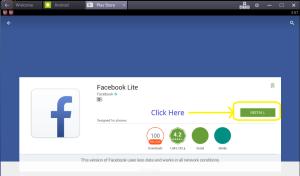 Facebook install file