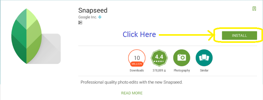 Snapseed For PC Windows 10,8 1,8,7,XP & Mac Free Download