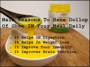 Main Reasons To Have Ghee