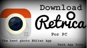 retrica for pc for installation