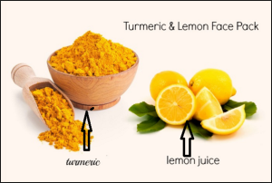 turmeric,lemon