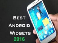 android widgets for smartphones