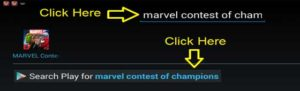 marvel contest of champions for laptop