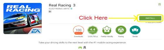 real racing 3 windows download