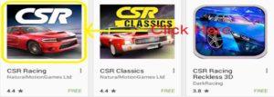 Csr racing for laptop