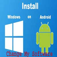 change software for windows to android